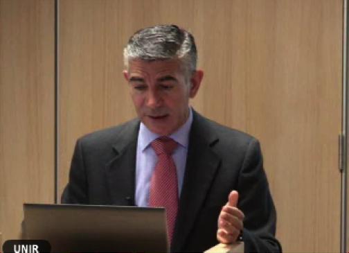 Dr. Vicente Soriano en la conferencia del VIH-2